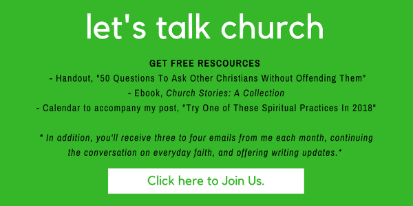 Let's talk church
