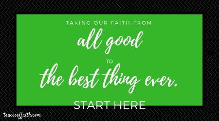 Taking our faith