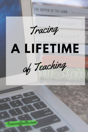 Tracing A Lifetime Of Teaching #mystory
