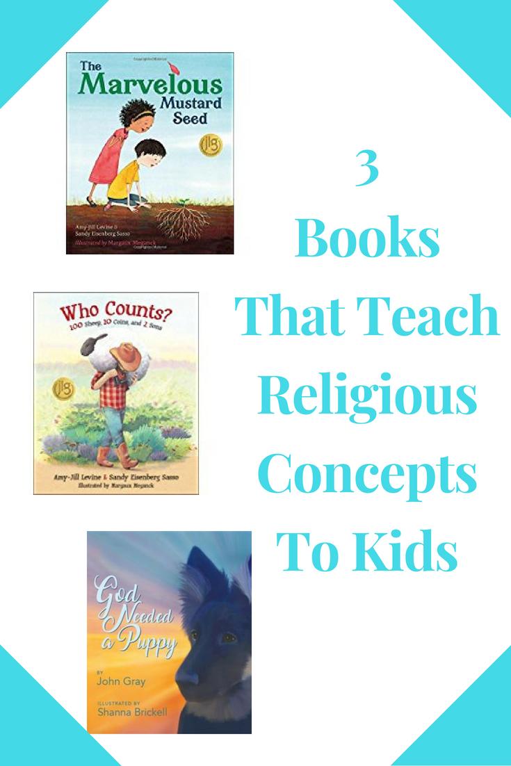 3ReligiousBooks For The Kids