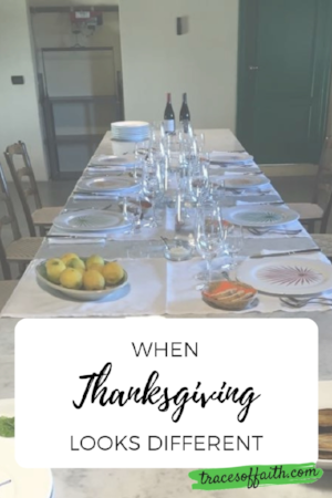 When Thanksgiving Looks Different