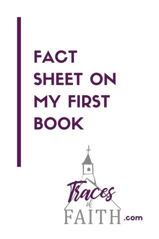 Fact Sheet On My First Book Pinterest