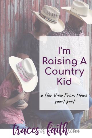 I'm Raising A Country Kid #ruralliving #smalltown #parentingkids