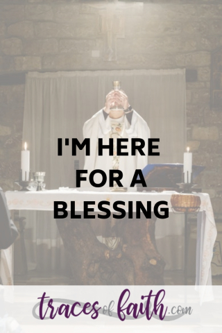 I'm Here For A Blessing #eucharist #communion #lordssupper #scripturereading