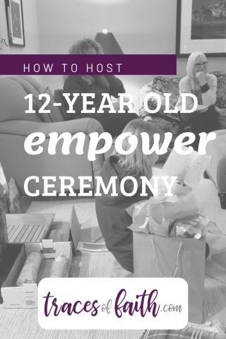 #riteofpassage #12yearoldceremony #confirmation #batmitzvah