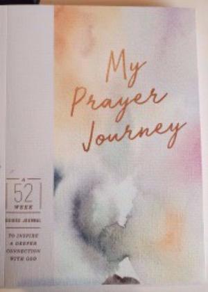 Prayer journal cover