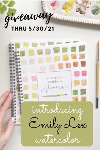 #EmilyLex #Watercolors #WatercolorClass #MayFlowers #favoritethings #emilylexstudio